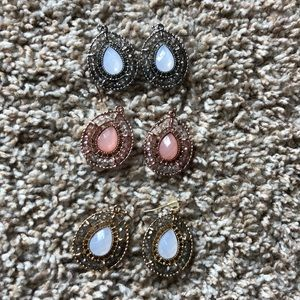 Dangle earring set